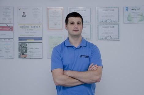 Adam Joszonek - certyfikowany specjalista w fizjoterapii i osteopatii